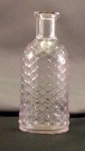... bim with a ring lip lattice diamond embossed poison bottle this bottle